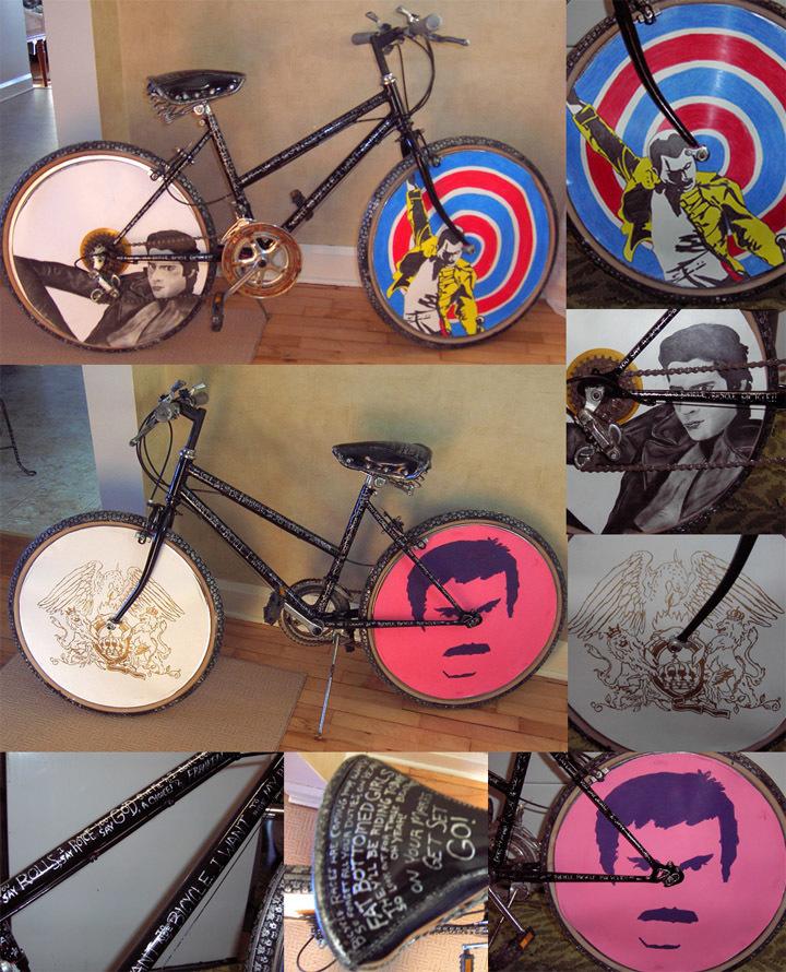 Freddie Mercury Bicycle Race By Estranged Illusions