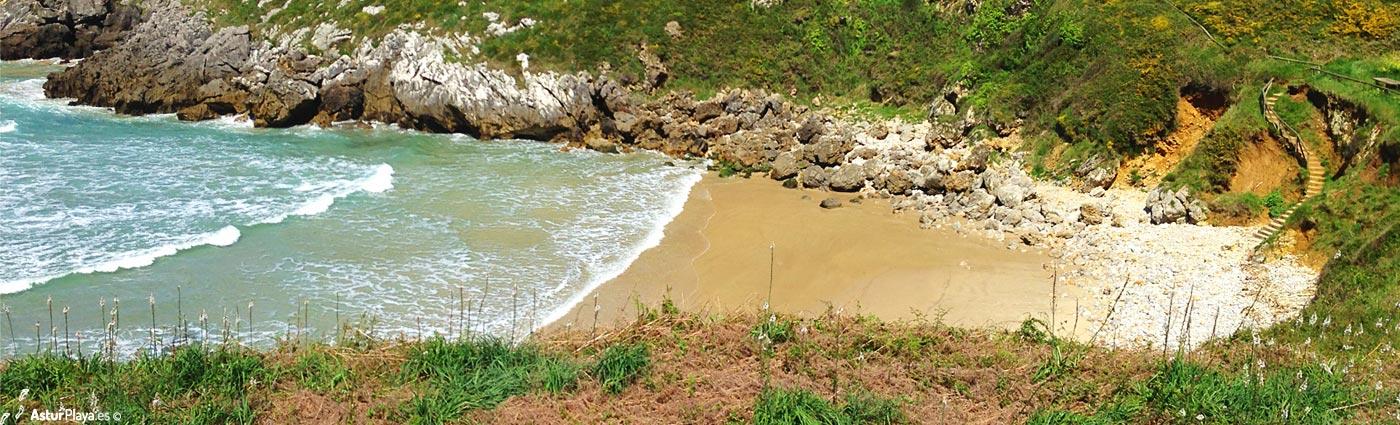 Playa Portiellu de San Martín