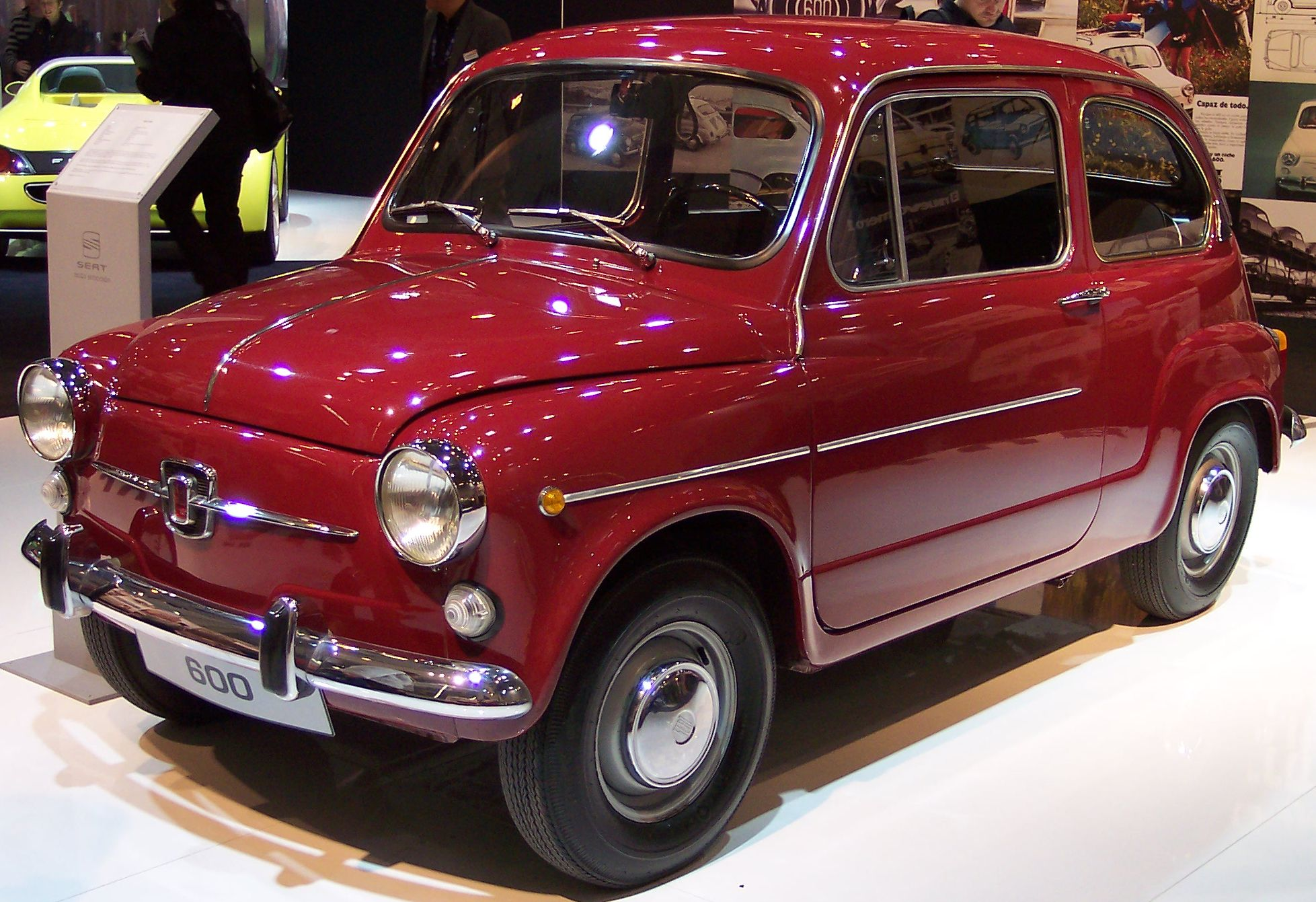Seat 600 Red Vl Tce