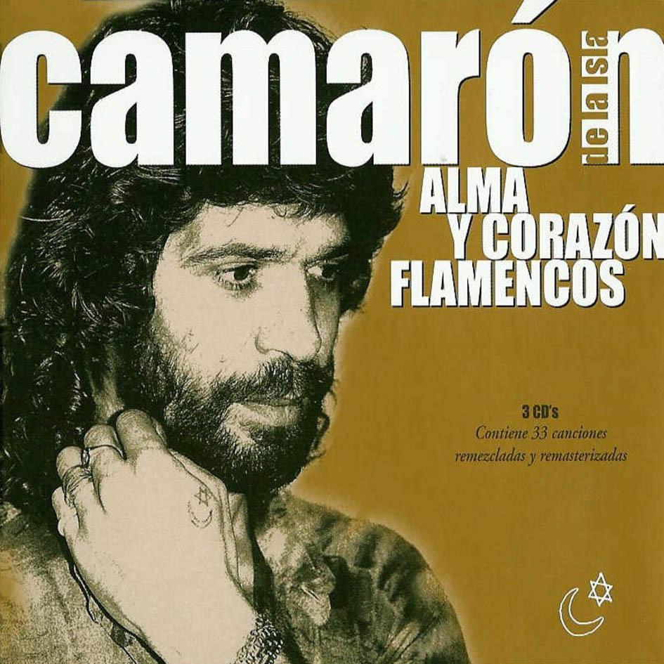 Camaron De La Isla Alma Y Corazon Flamencos Del 2004 Delantera