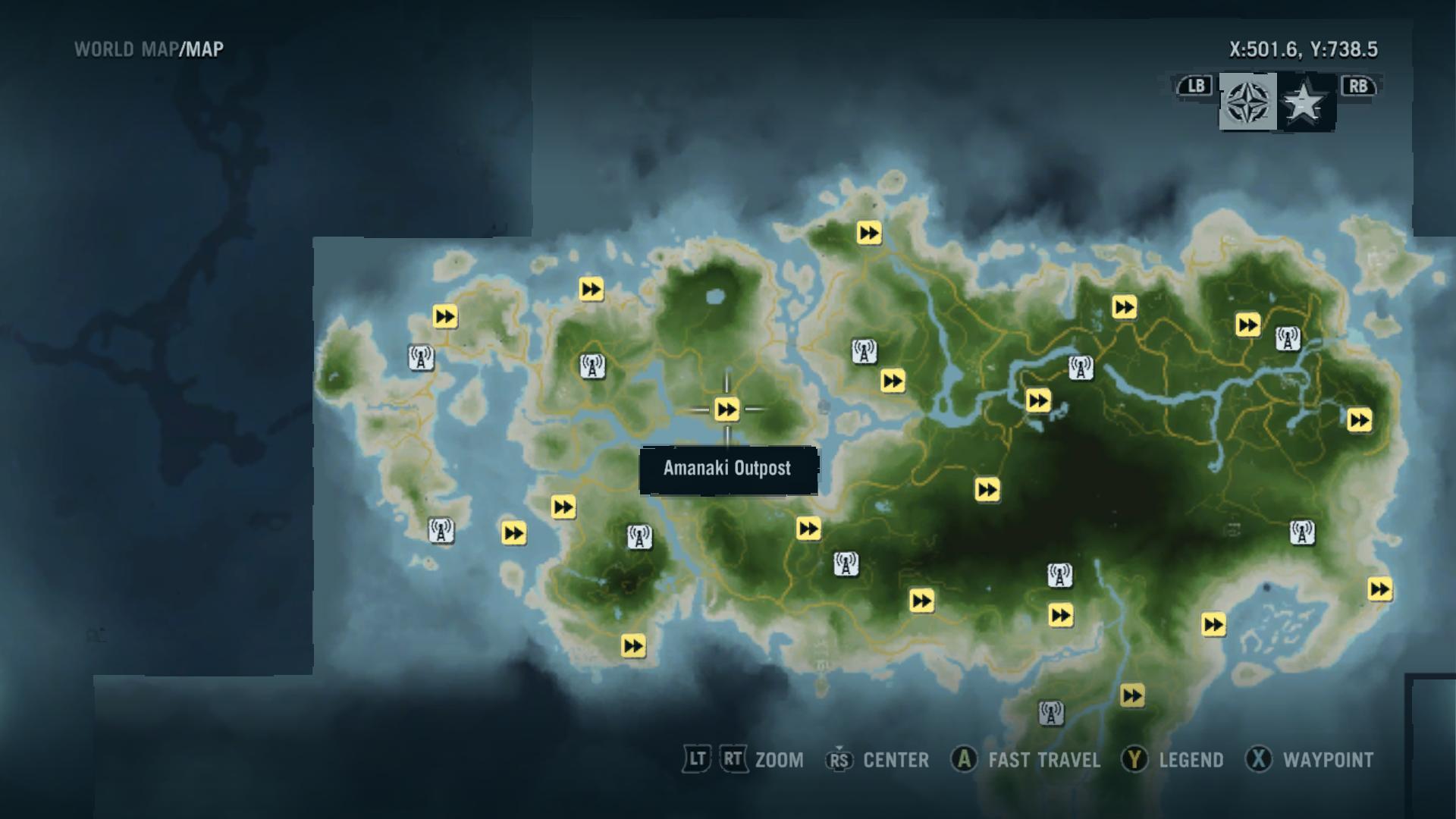 Memory 3 Map