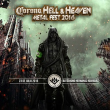 Bandas del Hell and Heaven 2016