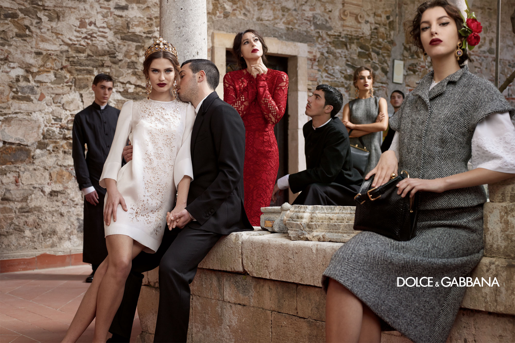 Dolce And Gabbana Fw 2014 Women Adv Campaign 2