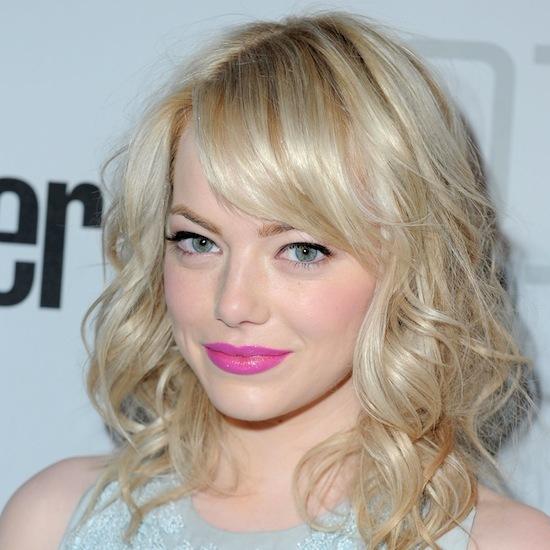 Emma Stone Pink Lips Nubry
