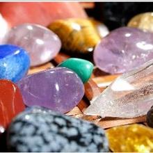 Les pierres et les cristaux