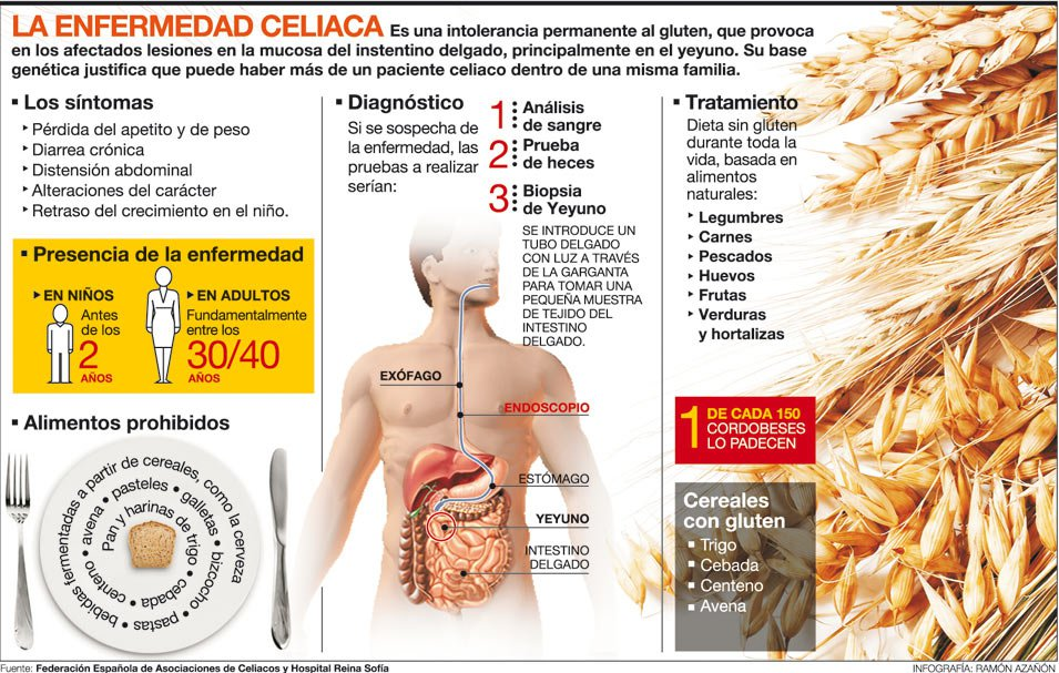 Alergia Gluten