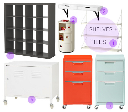 Designsponge Officeorg Shelving