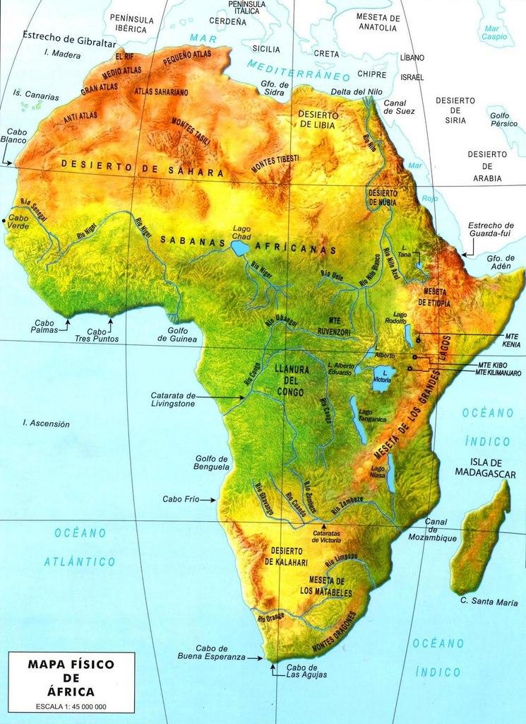 Africa Fisico