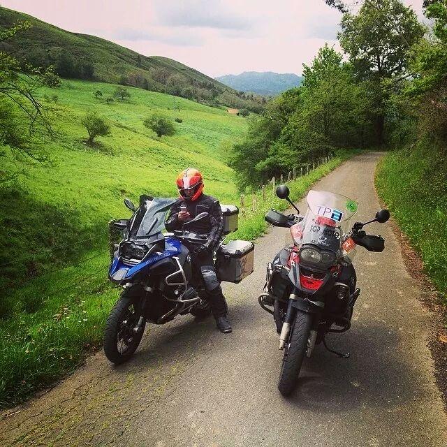 Rodando la ruta para TPA con Caballos de Metal