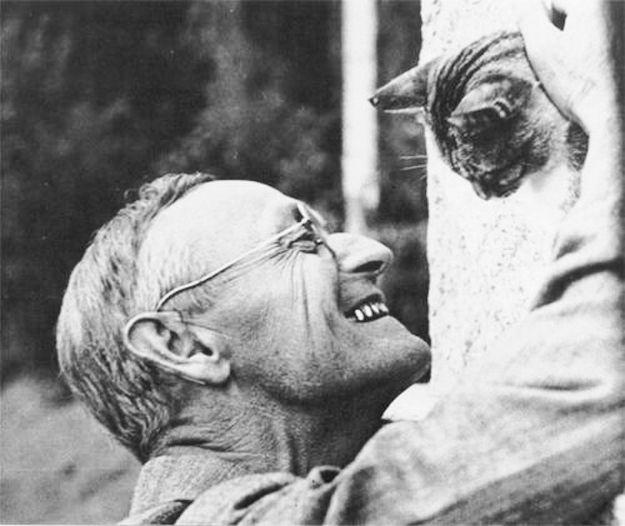 Hermann Hesse encuentra el verdadero amor.