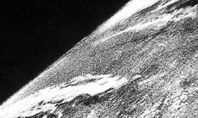 Primera Foto De La Tierra Tomada Desde Un Cohete V 2 Aleman En 1946