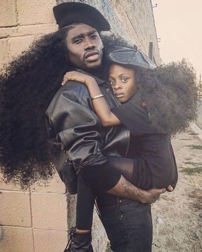 Pere Fille Cheveux Harlem Jaxyn 1