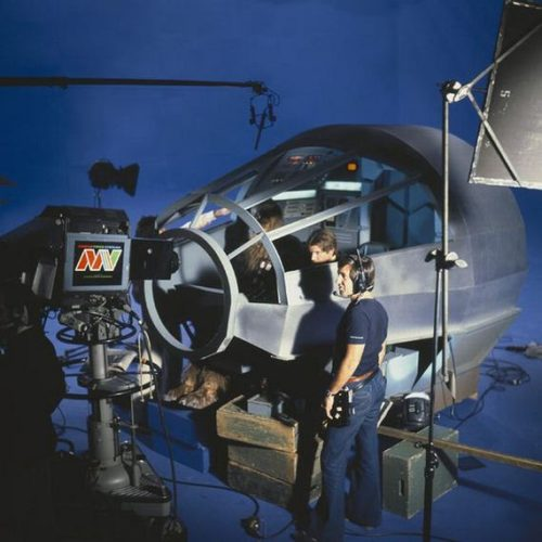Filming Star Wars Inside Of The Iconic Millennium Falcon Spacecraft