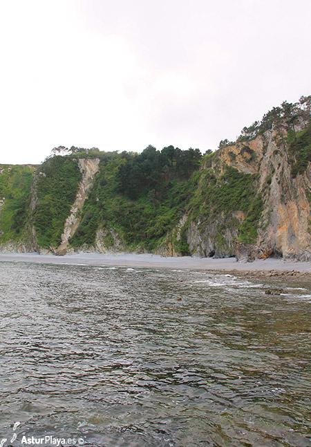 El Castrillon Beach Cudillero Asturias Spain