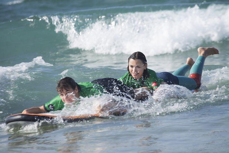 3ª JORNADA KIND SURF EN ZARAUTZ
