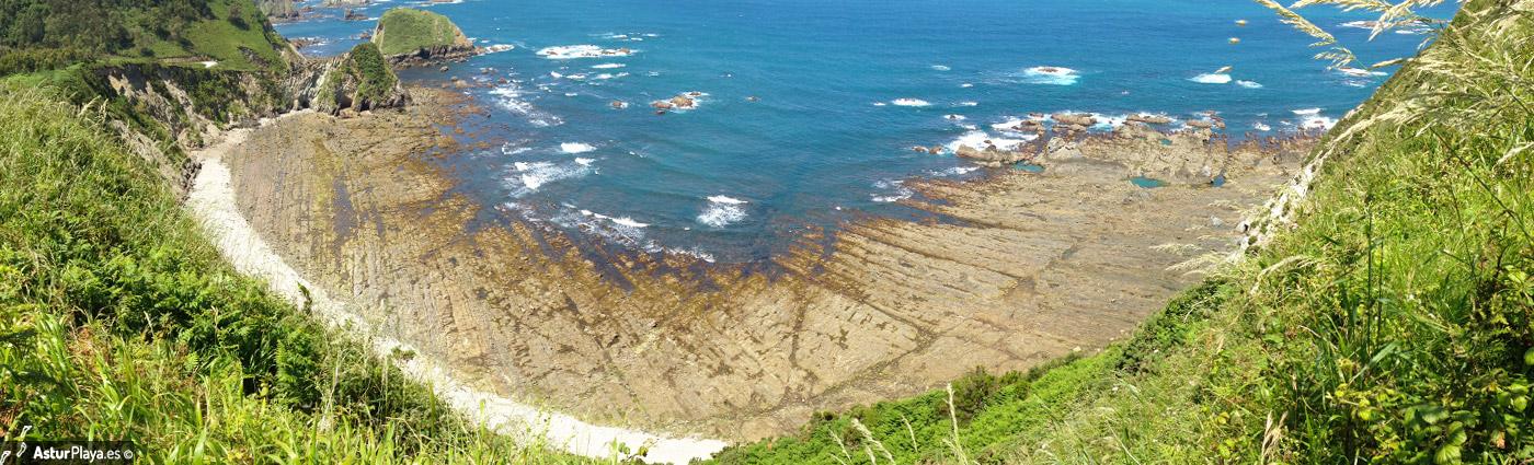 Albuerne Beach Cudillero Asturias Mainpic