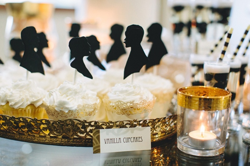 Chick Great Gatsby Wedding Inspiration 27