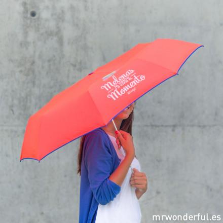 Mrwonderful 8436547190065 Lluvia Melenas Paraguas Mediano Melenas Al Viento Y A Vivir El Momento 51 Editar