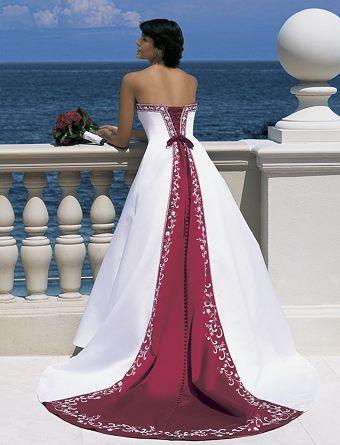 Vestido Novia Rojo 01
