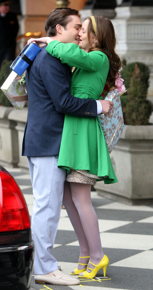90317p4 Meester B Gr 05 Chuck And Blair Leighton Meester Ed Westwick