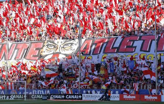 Vicente Calderón. Atlético de Madrid (Frente Atlético)