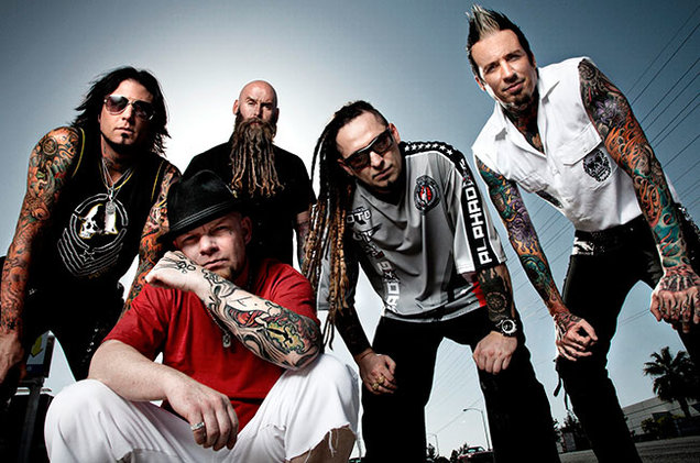 Five Finger Death Punch Press 2013 650