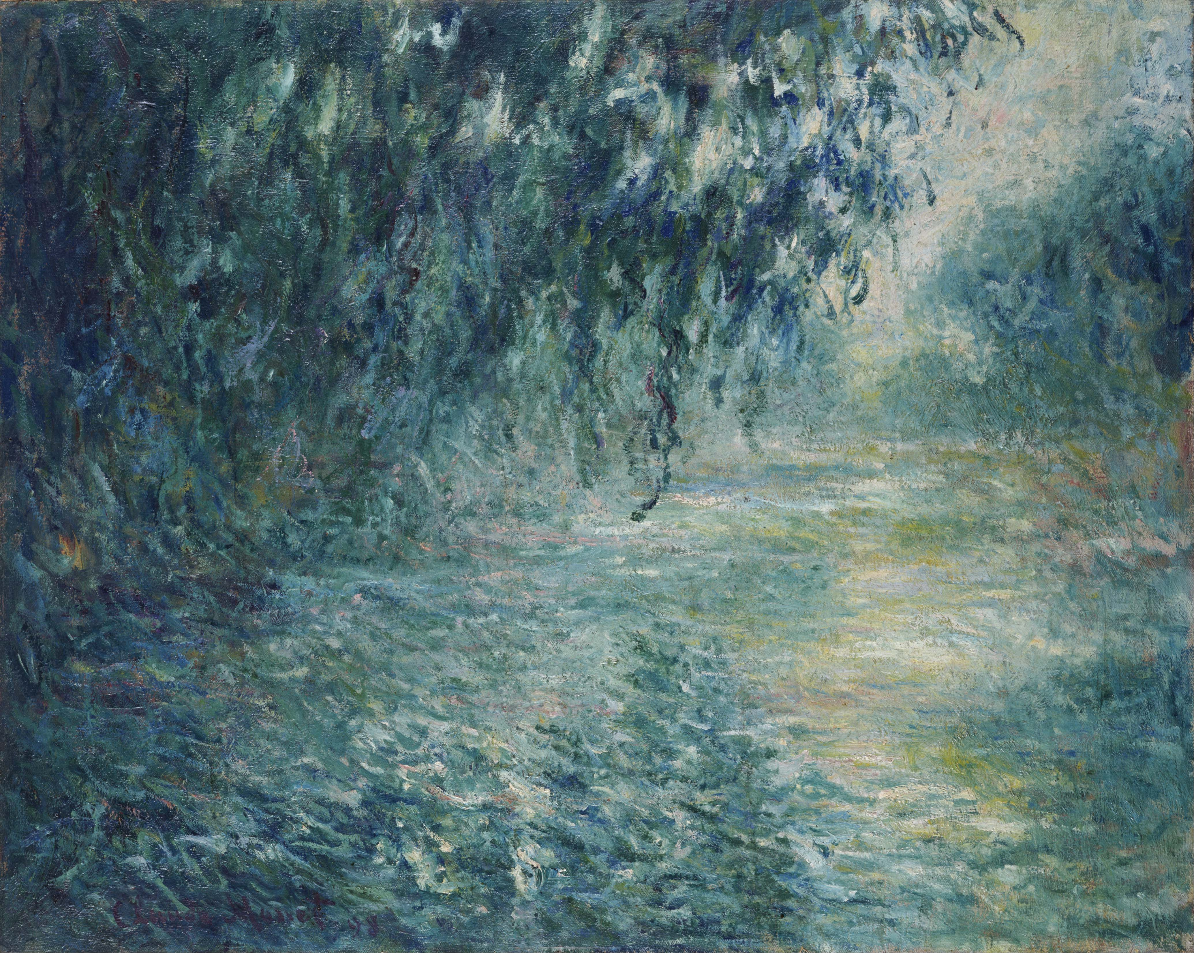 Claude Monet Morning On The Seine Google Art Project