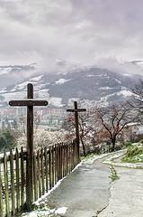 Vista De La Sierra Del Aramo Desde La Ribaya De M Parras
