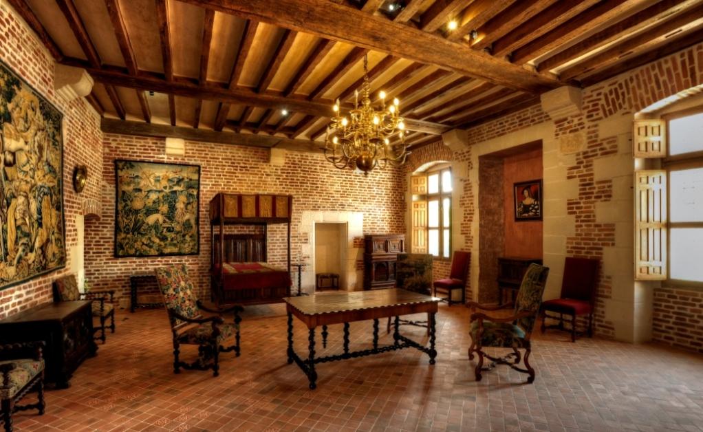 La chambre de Marguerite de Navarre.