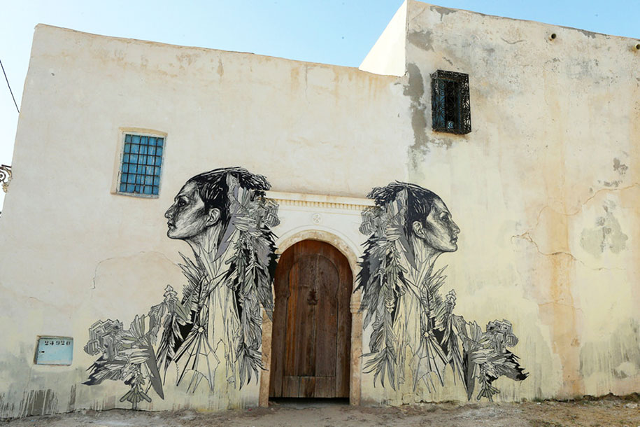 Created by Swoon (USA)