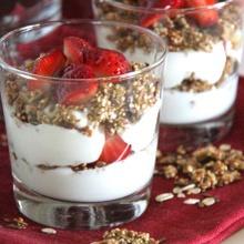 Adelgaza comiendo rico: Quinoa con yogur