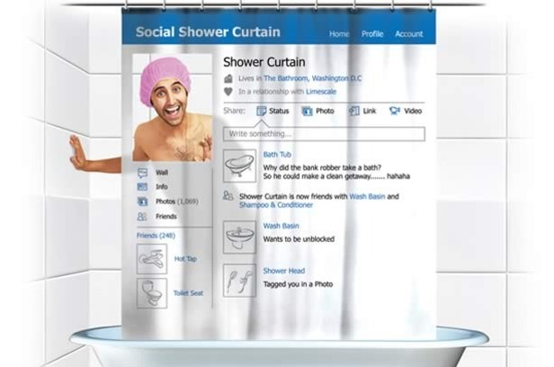 Shower Curtain Facebook 616