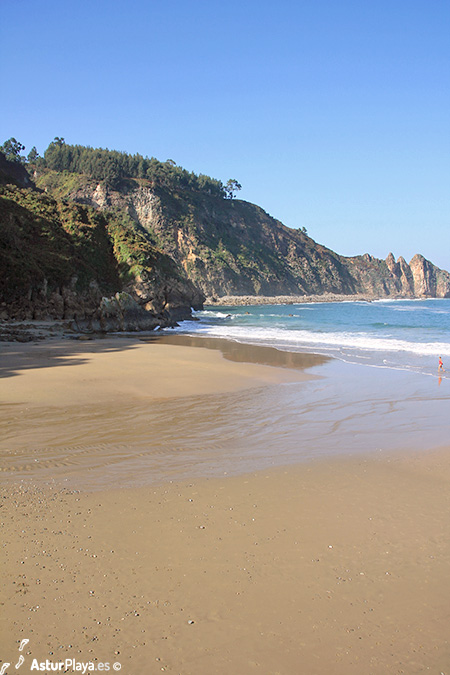 Campofrio Beach Western Side Asturias