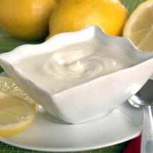 Crema de limón sin azúcar