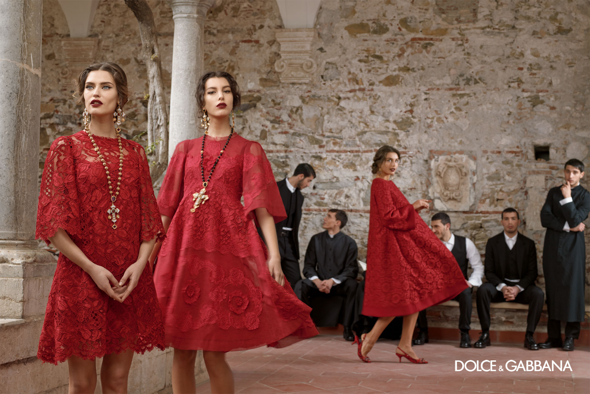 Dolce And Gabbana Fw 2014 Women Adv Campaign 5