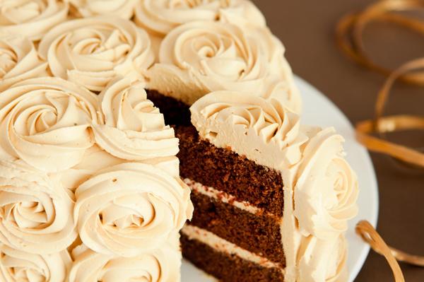 Tarta De Chocolate Con Caramelo