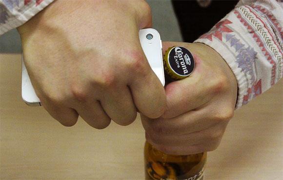 Open Beer Phone