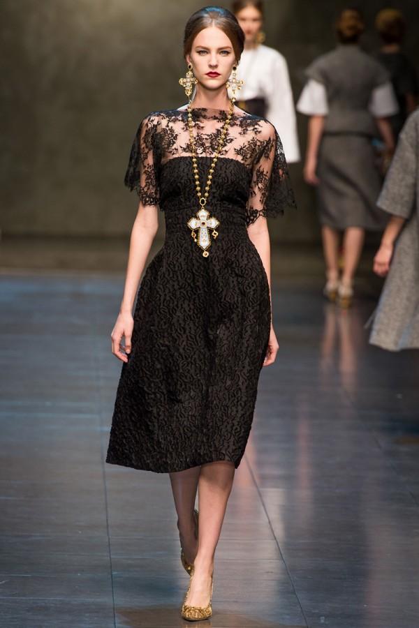 Dolce Gabbana Fall 2013 Rtw 33 600x900