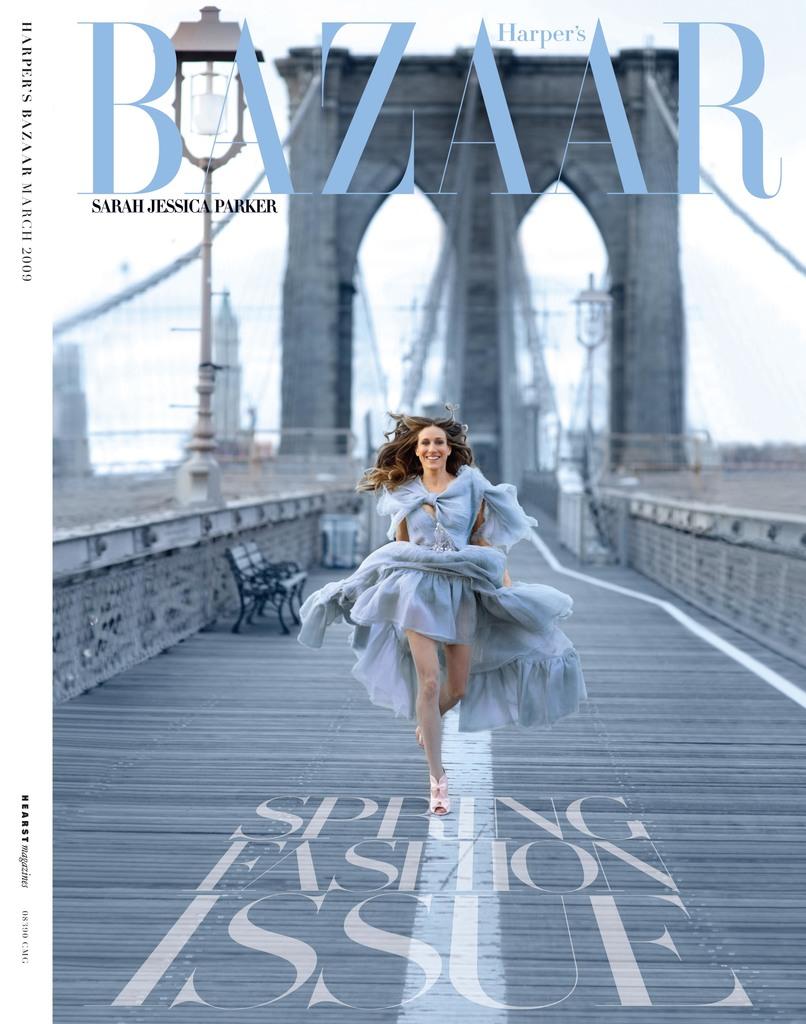 Harpers Bazaar Magazine Cover Sarah Jessica Parker