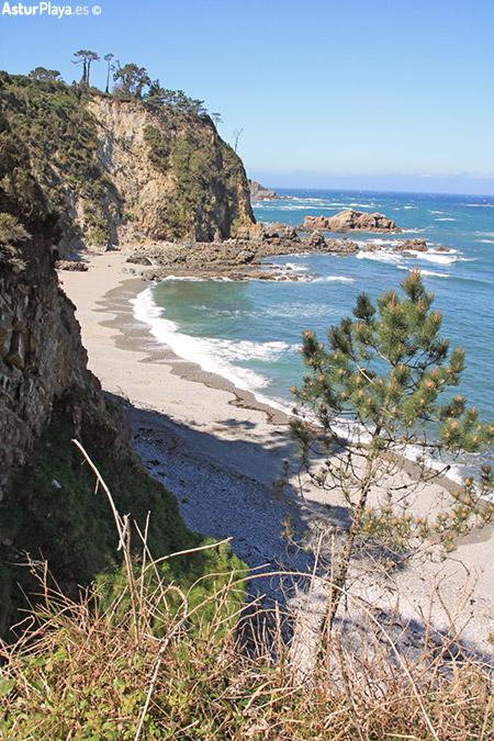Castello Beach Asturias Western Side