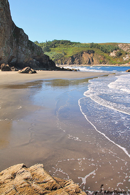 El Reguero Beach Asturias Middle