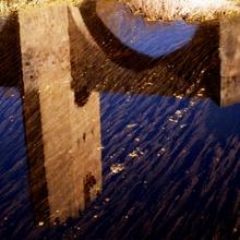 El puente de Frías (Burgos).