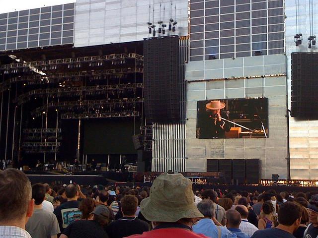 Photo: Nestor Correa Mayo - Bob Dylan at Rock in Rio Madrid