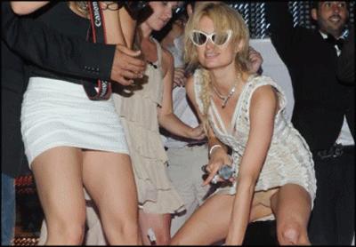 Lo de Paris Hilton no tiene remedio, dale que te pego
