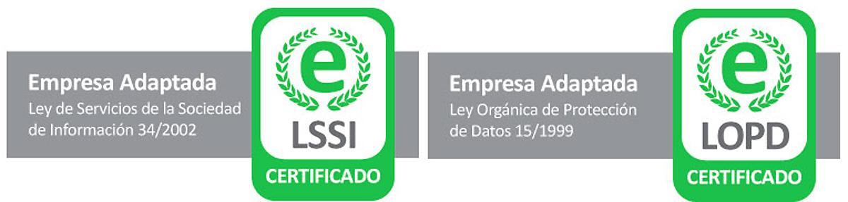 Certificado Lopd Lssi