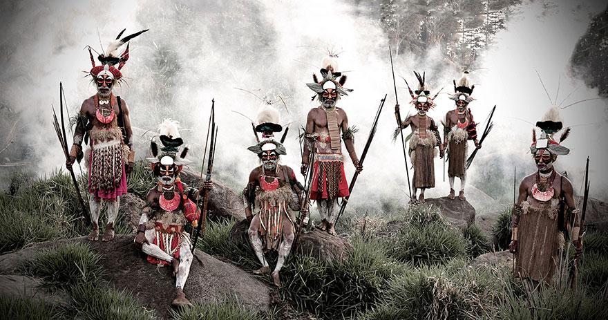 Goroka , en Indonésie et en Papouasie- Nouvelle-Guinée