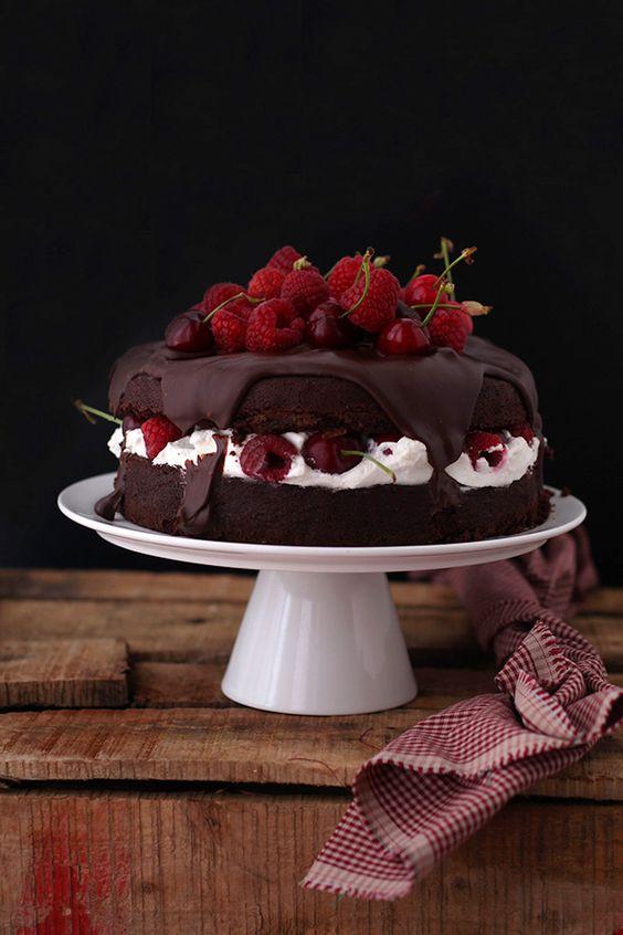 Tarta De Chocolate Y Marscarpone