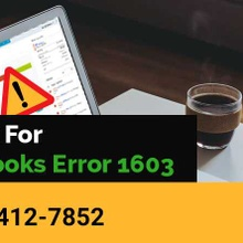 Fix QuickBooks Error 1603 - 1-888-412-78