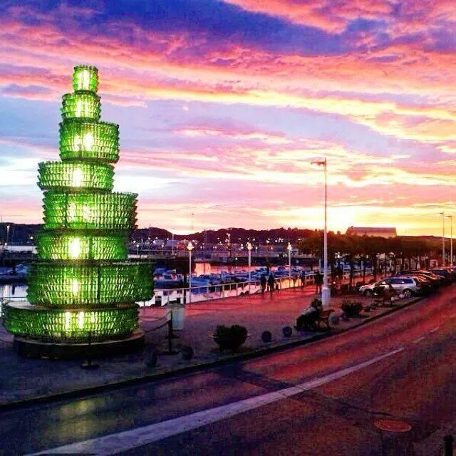 Puerto deportivo de Gijón por Fernando Rodriguez
