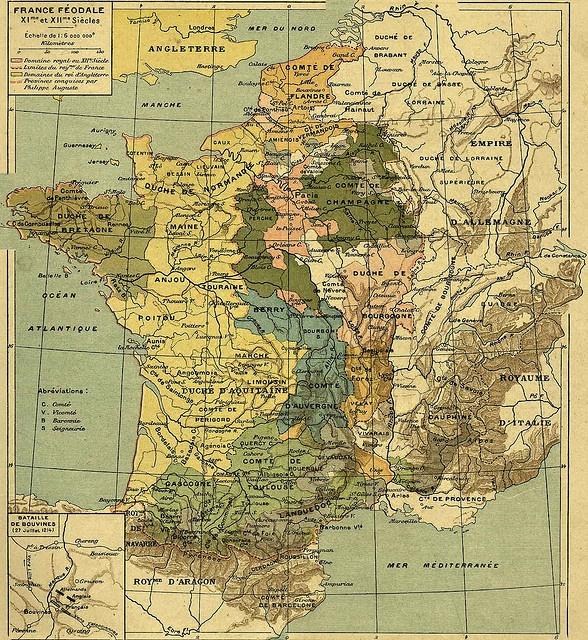 La France féodale au XIème et XIIème siècles